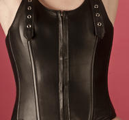 Leather Corset halterneck
