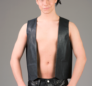 Leather Vest Bar Code (multiple colors)