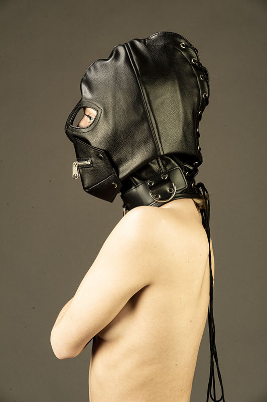 Vegan/PU Leather masks